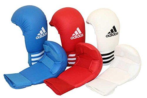 adidas Karate Kumite Faustschützer / Handschutz / Faustschutz, Farbe weiss, Gr. XL