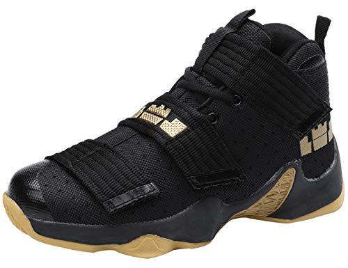 SINOES Zapatillas de Baloncesto Hombre Moda Zapatillas de Deporte Ligeros Zapatos de Correr Al Aire Libre Calzado Deportivo Antideslizante Transpirable Zapatos de Entrenamiento