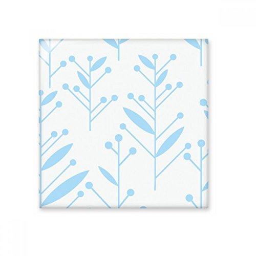 DIYthinker blauwe knop bloem plant verf glanzende keramische tegel badkamer keuken muur steen decoratie ambachtelijke gift