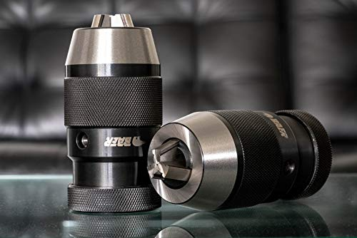 BAER Bohrfutter mit Kegeldornaufnahme 0,5-16 mm | Kegel: B 16 - Schnellspannbohrfutter | Bohrhammer | Qualitätsbohrfutter