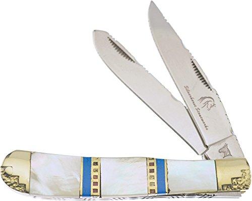 Other Frost Cutlery Silverhorse Trapper Mop Couteau de Poche Longueur fermé 10,49 cm