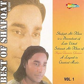 Best of Shafqat Ali Khan, Vol. 1