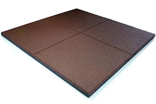 WKH GmbH 20 qm (20 Stück) Stallmatten, Paddockmatten, Gummimatten, Boxenmatte 100x100x3 cm