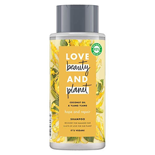 Love Beauty and Planet Champú aceite de coco y de ylang ylang Hope and Repair - 400 ml