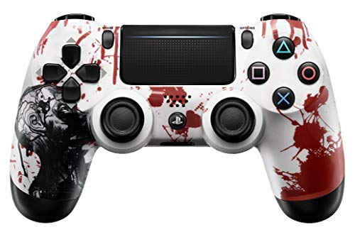 Zombie PS4 PRO Rapid Fire Custom Modded Controller 40 Mods for All Shooter Games, Auto Aim, Quick Scope Sniper Breath (CUH-ZCT2U)