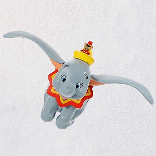 Hallmark Keepsake Christmas Ornament 2019 Year Dated Disney Dumbo When I See an Elephant Fly