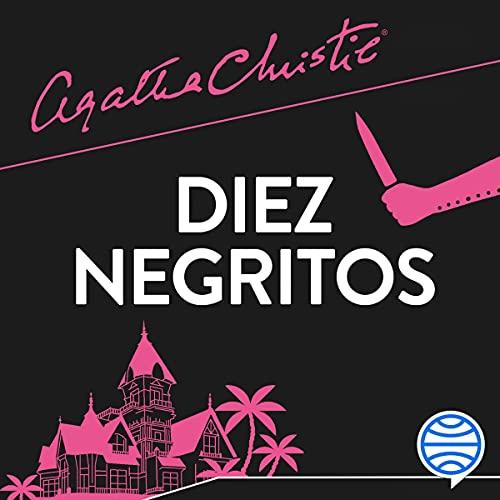 Diseño de la portada del título Diez negritos