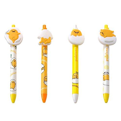 1pc Sanrio Gudetama Lazy Egg Mascot Clip Pen with Rubber Clip (Random 1pc)