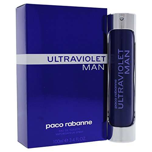 Paco Rabanne Ultraviolet Man EDT Spray 100 ml, 1er Pack (1 x 100 ml)