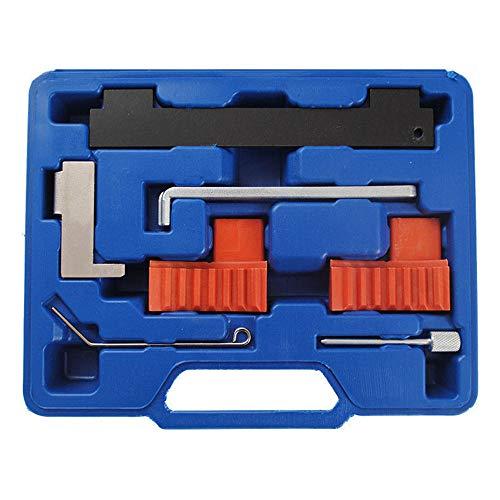 Turefans Motor Einstell Werkzeug Satz Opel 1.6/1.8 Zahnriemenwechsel Opel Astra,Einstellwerkzeug Zahnriemen Nockenwelle Kurbelwelle Fixierung Fixierwerkzeug