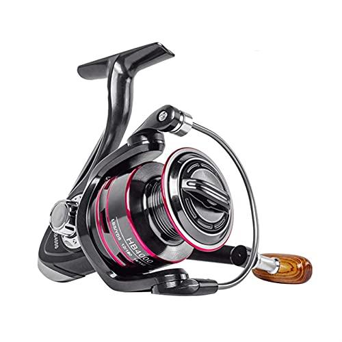HZPXSB Carrete de Pesca Carrete de Metal Spinning Reel HB 1000-6000 8kg MAX MAX Drag Handillo de Acero Inoxidable Línea de Carrete Rueda de Pesca de Agua Salada (Spool Capacity : 3000 Series)