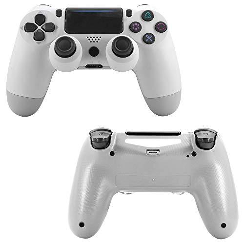 FXQIN Bluetooth Game Controller Joystick inalámbrico para Gamepad Controlador de Juego Wireless Compatible Consola PS4 / iOS/Android/PC, Choque Doble Y función de Audio
