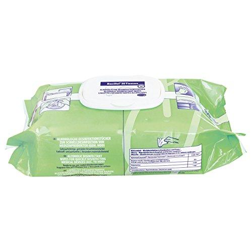 Bacillol 30 Tissues Materialschonende schnell Desinfektionstücher (80 Tücher)