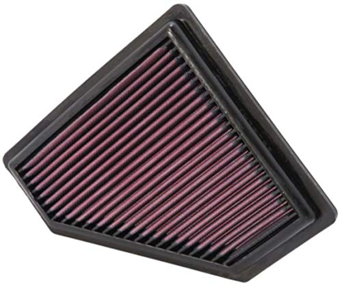 K&N Engine Air Filter: High Performance, Premium, Washable, Replacement Filter: Compatible with 2008-2011 FORD (Focus), 33-2401
