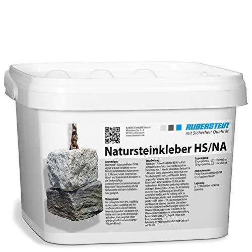 Ruberstein® Natursteinkleber HS/NA 2 kg Eimer