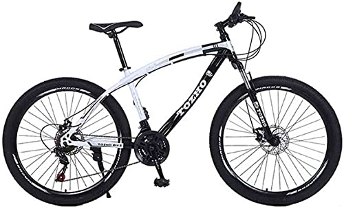 Mountain Bike 26 Inch 27 Speed Bicycle Spokes and Tires Double Shock Full Suspension Absorption high-Carbon Steel Shaped Frame for Men Women