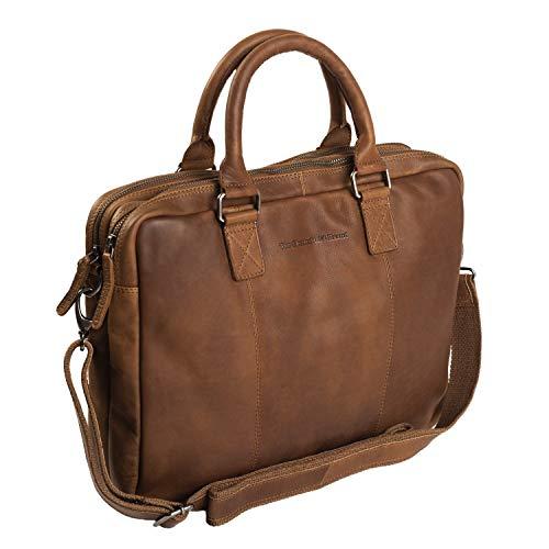 "The Chesterfield Brand Leder Laptoptasche Cognac Floris Laptop 15\"" Zoll Laptopfach"