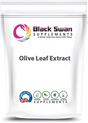 Black Swan Olive Leaf Extract 300mg Tablets – with Anti-inflammatory Properties – Healthy Immune Health – Healthy Skin – Nervous System (120 Tabs)