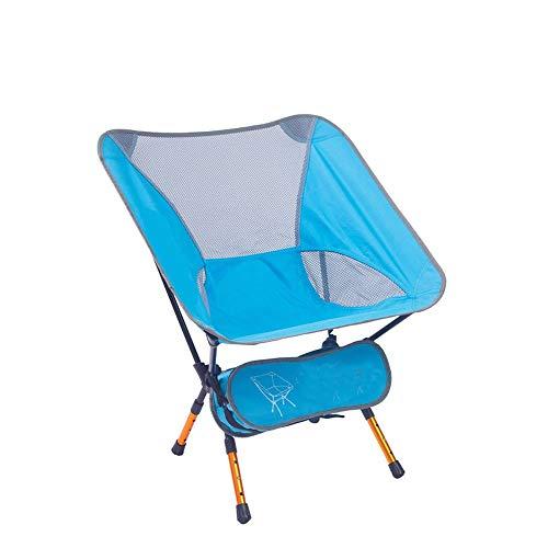 Camping stoel Verstelbare hoge en lage opvouwbare stoel aluminium outdoor campingstoel dragen Oxford doek luie lounge stoel draagbare visstoel Half maanstoel Deck stoel (Laden lager: 150kg) Vouwen ch