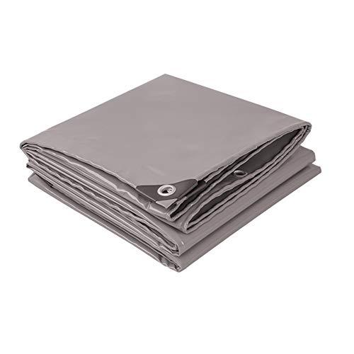 WZNING - Toldo para exteriores, toldo para carpa o carpa de techo, impermeable, multifunción, resistente al agua, duradero y protector (color: gris, tamaño: 5 MX5 M)