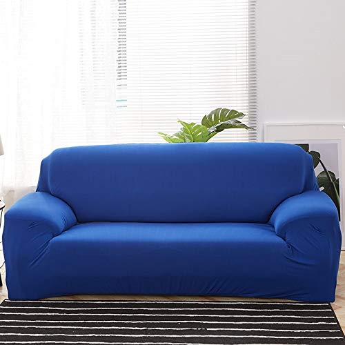 ASCV Solid color sofa covers for living room stretch slipcovers elastic material couch cover corner sofa cover A6 3 seater