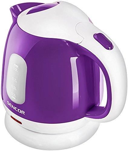 SENCOR SWK 1015VT Wasserkocher mit abnehmbarem Filter, 1 L, Violet, 1 Liter