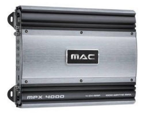 Mac Audio MPX4000 - Amplificador de audio, color gris