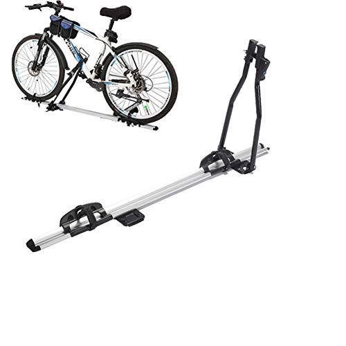 LYzpf Portabicicletas Techo Bicicleta Coche Enganche Almacenamiento Transporte Portátil Exterior Universal