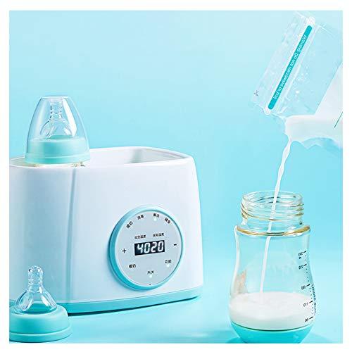 TANCEQI Babykostwärmer Simply Hot Flaschen Sterilisator Tragbarer, Dampf Sterilisator Und Babykostwärmer Mit LED-Anzeige, Warmhaltefunktion, Auftauen Für Babyflaschen Und Schnuller
