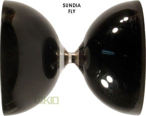 Sundia Fly Diabolo (avec roulement à billes) noire