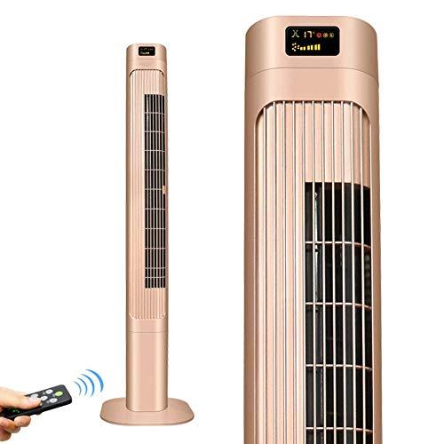 Ventilador de Aire Acondicionado de Tierra Vertical, Ventilador de Torre con Control Remoto, sin Cuchillas, enfriadores evaporativos silenciosos, Enfriador de Aire para Oficina