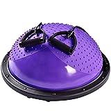 Bola de ejercicios de bola de yoga Hemisferio Equilibrio Yoga Pilates bola de fitness Hemisferio Wave Speed Ball Inicio Formación Rehabilitación Equipo Deportes bola de la gimnasia Balance de equili