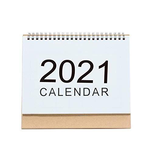 Calendario de Escritorio 2021, Calendario 2021, Va Desde Enero de 2021 A Diciembre de 2021 para Escribir Y Apuntar