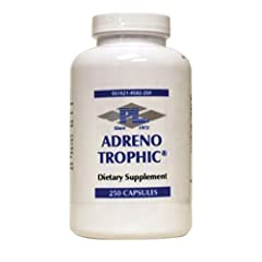 Progressive laboratories adreno trophic Adreno Trophic contains the growth and repair factors for the adrenals (RNA/DNA factors sometimes called Protomorphogens) The adrenal glands are located atop the kidneys and each consists of a central medulla s...