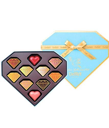 デルレイ  DelReY 2020 ダイヤモンドBOX 10粒入 ラッピング・紙袋付き バレンタイン ホワイトデー チョコレート