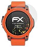 atFoliX Panzerfolie kompatibel mit Nixon The Mission Schutzfolie, entspiegelnde & stoßdämpfende FX Folie (3X)
