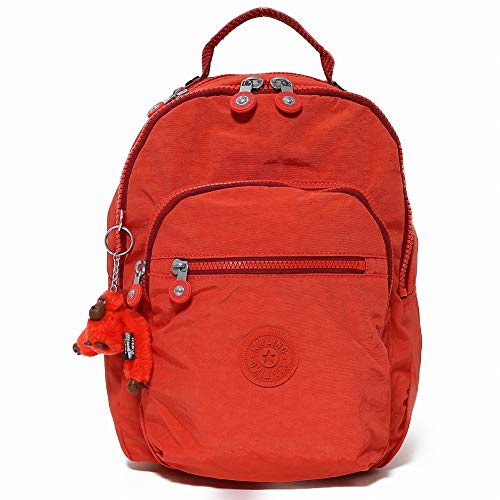 Kipling キプリング リュックサック ki2641 Clas Seoul S 16p Active Red [並行輸入商品]