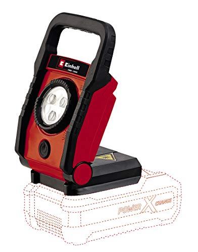 Einhell Akku Lampe TE-CL 18 Li Solo Power X-Change (Lithium Ionen, 18 V, max. 32 h, Schwenkbereich 0-135°, Tragegriff, ohne Akku und Ladegerät)