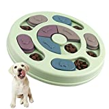 Juguetes para perros Inteligencia Comida para perros Juguetes para cachorros, Reduzca la velocidad Juguetes para perros Comer, Rompecabezas antideslizantes Juguetes para perros, cachorros y gatos