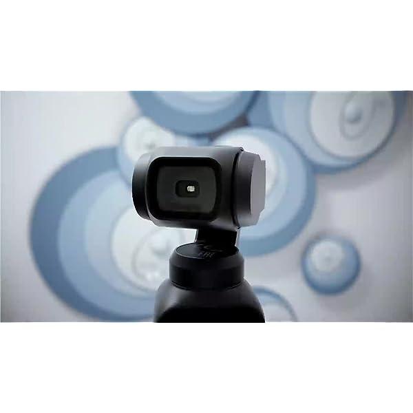 DJI Osmo Pocket - Stabilizzatore 3 Assi con Videocamera 4K Integrata, Risoluzione fino a 4K, 60 fps e Foto da 12 MP, Nero 7 spesavip