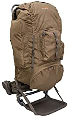 Made of durable Nylon Rip stop fabric, giving you a long-lasting use in the harshest weather environments Organize your gear in one of the many pockets: two side accessory hinged pockets, main, front and spotting scope pocket Keep your essentials clo...