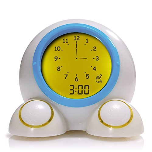 PlayMonster Teach Me Time Educational Alarm Clock Night Light