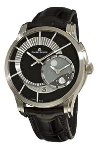 Maurice Lacroix Men's PT6108-TT031391 Pontos Decentrique GMT Limited Edition Black GMT Dial Watch image