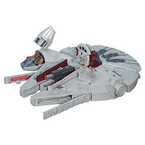 Star Wars - Halcón Milenario Hero, avión de Juguete (Hasbro B3678)