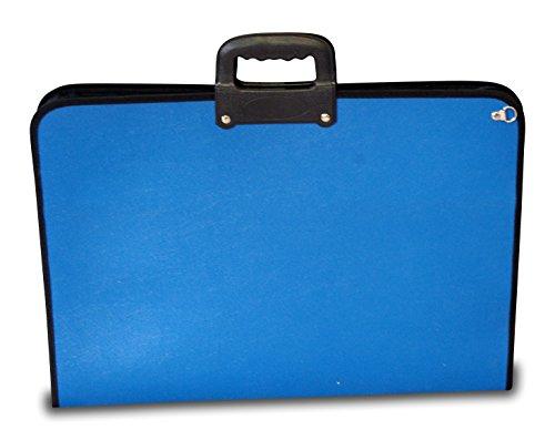 Artcare 15222400 64 x 3 x 48 cm A2 con Material sintético de la Academia, Color Azul