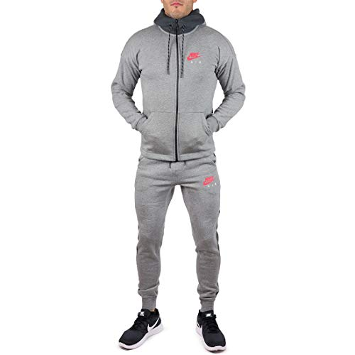Nike Air NSW - Chándal completo para hombre Gris gris L