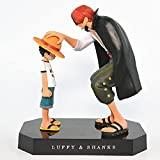 Redhead Shanks Luffy Action Figure Model Statue Figure Toy Gift Decoration Collection