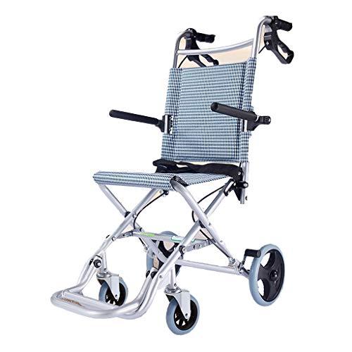 Rollstühle, Scooter & Zubehör Rollstuhlreiserollstuhl-Roller Hauptfaltender Alter Wagenlaufkatze tragbarer Gurt des im Freienreisestuhls tragendes 55kg
