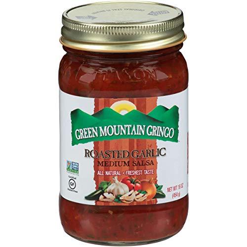 Green Mountain Gringo Fire Roasted Garlic Salsa, 16 Ounce -- 12 per case
