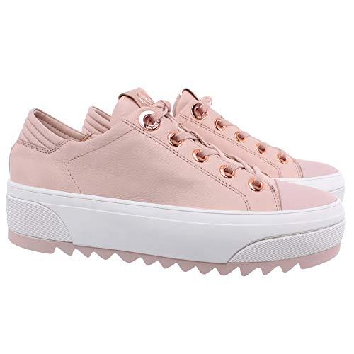 Michael Kors Damen Sneakers Keegan 43R0KEFS2L Keegan Leder Rosa